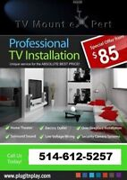 Professional TV Wall Mounting by TV EXPERT