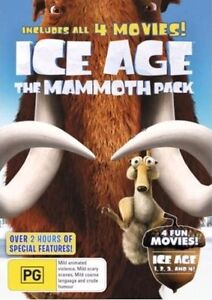 Ice Age - The Mammoth Pack - DVD Region 4