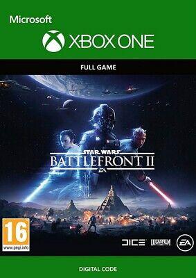 STAR WARS BATTLEFRONT II 2 XBOX ONE FULL GAME KEY (digital Code) Global Fast