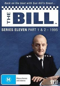 The-Bill-Series-11-Part-1-2-DVD-2013-11-Disc-Set-BRAND-NEW-SEALED