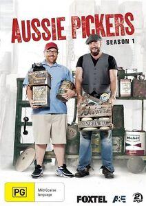 Aussie Pickers : Season 1 (DVD, 2014, 2-Disc Set)-REGION 4-free postage