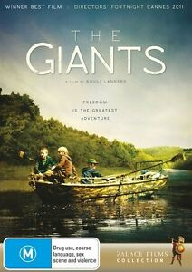 The Giants (DVD, 2013) New  Region 4