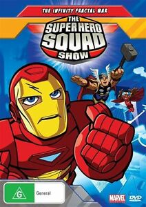 Super Hero Squad Show - Infinity Fractal War : Vol 1 (DVD, 2010) BRAND NEW .. R4