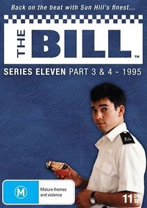 THE BILL - SERIES 11 - PART 3 & 4 (1995) - (11 DVD SET) BRAND NEW!!! SEALED!!!
