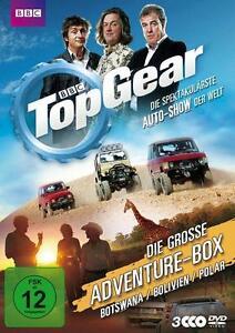 DVD * TOP GEAR - DIE GROSSE ADVENTURE-BOX * 3 DVDS NEU OVP DVD