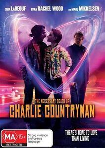 The Necessary Death Of Charlie Countryman (DVD, 2014) Evan Rachel Wood