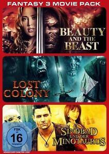 Fantasy - 3 Movie Pack (2014) DVD *OVP *Neu