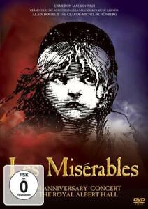 Les Misérables - 10th Anniversary Concert at the Royal Albert Hall    DVD NEU