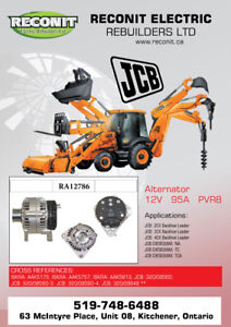 JCB Construction equipment Starter & Alternator