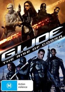 G.I. Joe - The Rise of Cobra (DVD, 2009) R4 PAL NEW FREE POST