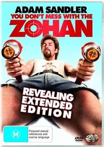 YOU-DONT-MESS-WITH-THE-ZOHAN-DVD-R4-PAL-ADAM-SANDLER-EXTENDED-EDITION