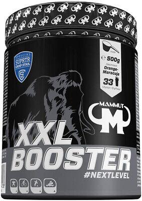 Mammut Xxl Booster, Multikomplexbooster, Creatin, Taurin, Zink, Chrom, Vitamine, 1er Pack (1 X 500 G)