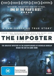 The Imposter NEW R4 DVD