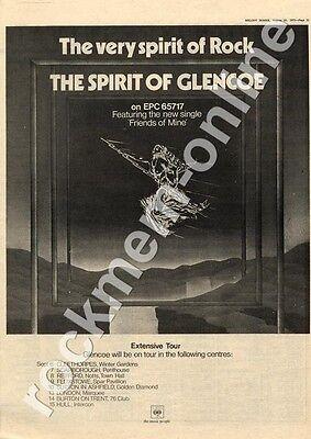 Glencoe Friends Of Mine Hull Intercon Club MM3 '45/Tour advert 1973