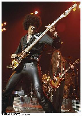 THIN LIZZY - VINTAGE MUSIC PHOTO POSTER - 23x33 UK IMPORT 6019