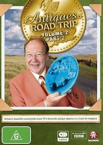 Antiques Roadtrip : Vol 2 : Part 2 (3xDVD, 2015, ) New & Sealed Free Postage
