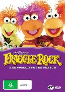 Fraggle-Rock-Season-3-DVD-2007-4-Disc-Set-REGION-4-Brand-new-Free-postage