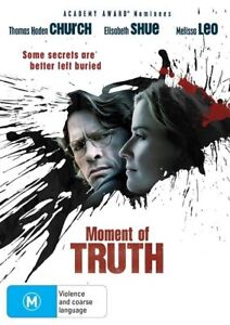 Moment Of Truth (DVD, 2010)-REGION 4-Brand new-Free postage