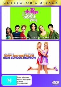 10 Things I Hate About You/ Romy And Michele's High School Reunion DVD-BRAND NEW