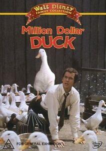 Disney Million Dollar Duck (DVD) Dean Jones  - Region 4 - Good Condition