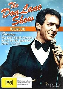 The Don Lane Show : Vol 1 (DVD, 2015) NEW