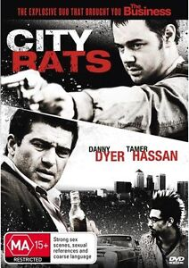 City Rats - Danny Dyer, Tamer Hassan (DVD, Region 4, New & Sealed) gf6