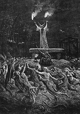 Gustave Dore - Another Sabbath ++ POSTER, DIN-A2 ++ Rotting Christ ++ NEU !!