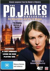 The-P-D-James-Collection-An-Unsuitable-Job-For-A-Woman-DVD-2009-4-Disc-Set