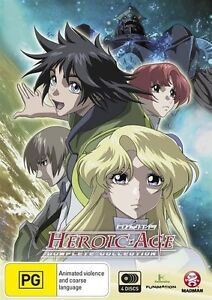 HEROIC AGE: COMPLETE COLLECTION (2007) NEW DVD