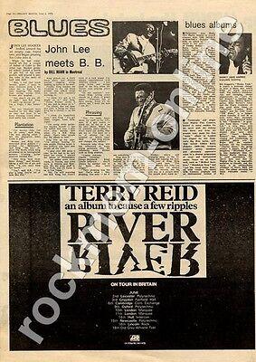 Terry Reid River Hull Intercon MM3 LP/Tour advert 1973