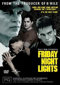 Friday Night Lights (DVD, 2005) R4 PAL NEW FREE POST