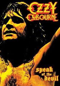 Ozzy Osbourne - Speak Of The Devil (DVD, 2013)
