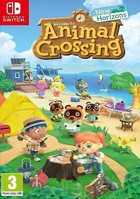 ANIMAL CROSSING New Horizons Nintendo 2020 Switch KEY ONLY (EU ONLY)