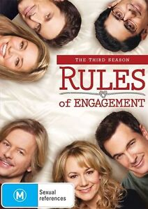 Rules Of Engagement : Season 3 DVD New/Sealed Region 4