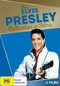 The ELVIS PRESLEY Collection Of Films DVD 4-MOVIES 60's NEW RELEASE BRAND NEW R4