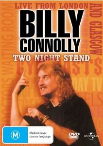 Billy Connolly - Two Night Stand ...REG 4...VGC