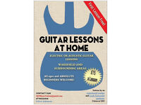 Guitar Lessons at Home / Guitar Teacher / Tuition
