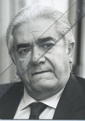 Foto Sänger GIUSEPPE DI STEFANO - Vintage von 1989 - SW Pressefoto - OperTenor