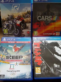 3 ps4 games for sale £10,00 each