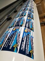 Custom Label, Banner & Sticker Printing!! Vehicle Decals!