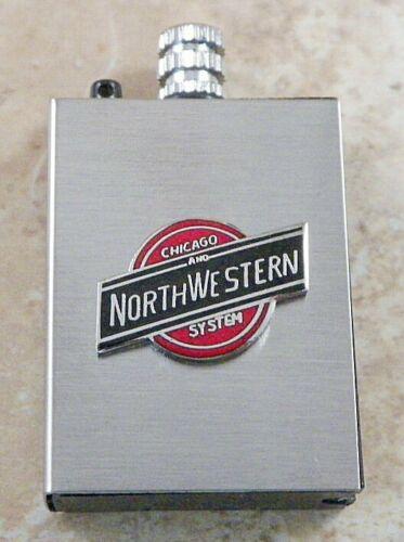 Chicago & NorthWestern Railroad System Permanent Match Lighter