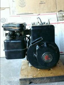3.5hp Briggs engine with 6:1 reduction gear (gearcase)