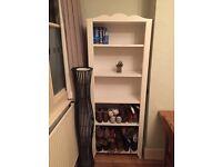 Ikea book case shelf - discontinued - rare white antique vintage
