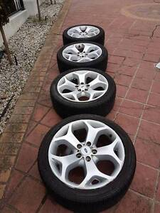 4 x FG Falcon XR6 Wheels fitted with tyres Mill Park Whittlesea Area Preview