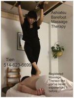 Ashiatsu Barefoot Deep Tissue Massage Therapy