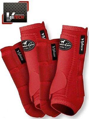 Professional's Choice VenTECH Elite Value Pack Crimson M Sport Medicine Boots