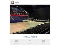 X2 Drake Seated Tickets (Fantastic View), o2, 15th FEB (Last London Date)