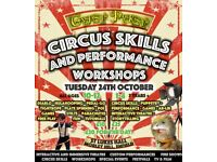 Half term kids CIRCUS and PERFORMANCE workshops
