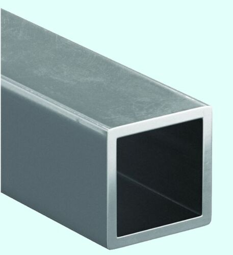 """Steel Hollow Square Tube  1-1/4 """" O.D. x 6 ft Long  1/8"""" Wall Carbon 1015 Alloy"""