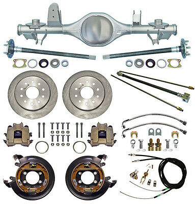 CURRIE 97-06 JEEP WRANGLER TJ REAR END & DISC BRAKES,LINES,PARKING CABLES,AXLES